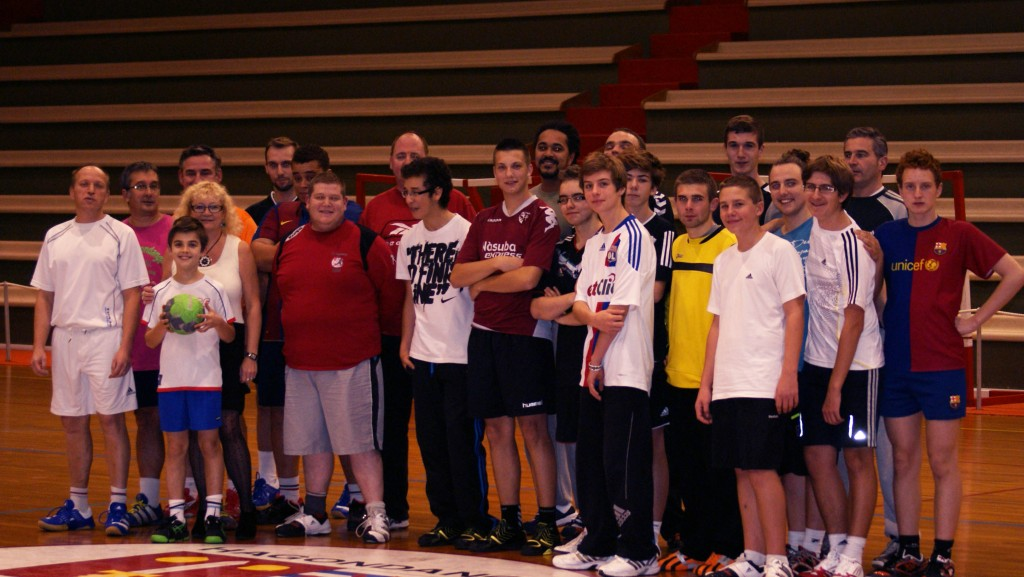 Match d'entrainement hagondange handball 2012 2013